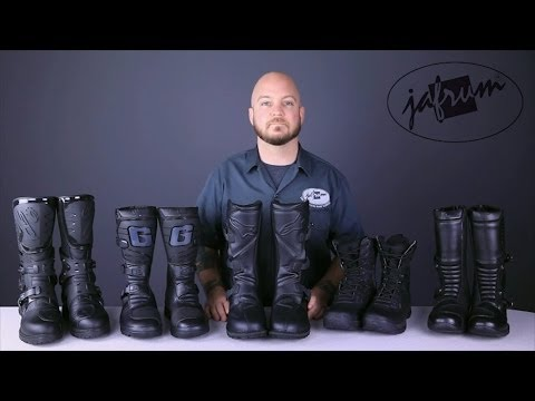Adventure Touring Boot Buying Guide From Jafrum.com