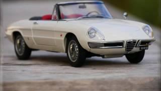 Alfa Romeo 1600 Duetto Spider - 1966 - AutoArt 1/18 by RetroModelCars