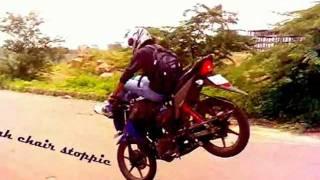 Akkss Ali - 14 Styles of Stoppie on Honda CB Twister 110cc (soundtrack - rise up)