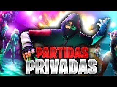 *SI GANAS TIENES PREMIO* PARTIDAS PRIVADAS DIRECTO FORTNITE JUGANDO CON SUBS