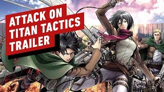 Attack on Titan TACTICS – Official Trailer