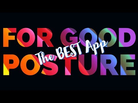 Check Out How The POSTURE PROTECTOR APP Works!