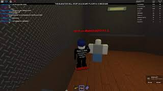 Gast 666 im grusel-Aufzug (Roblox: der gruselige Aufzug 2)