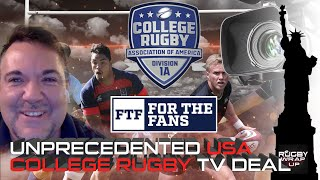 D1A Rugby Pres Paul Keeler re TV Deal, Steve Lewis re USA Rugby Crisis, #NY7s Recap, #Dubai7s