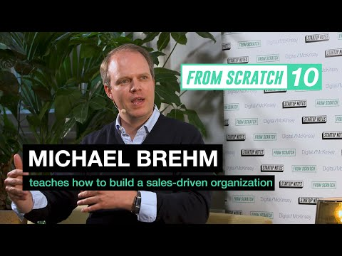 From Scratch #10: Michael Brehm (i2x) über das Management von Sales-Teams