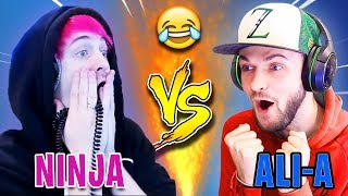 Ninja GOES OFF On Ali-A For CLICKBAITING His Videos Non-Stop! | Fortnite Highlights & Funny Moments