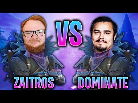 ZAITR0S VS DOMINATE! VEM ÄR BÄST? (Svenska Fortnite Highlights)
