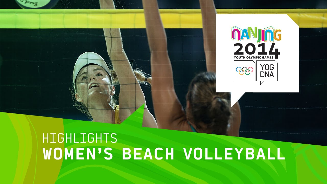 Women's Beach Volleyball Australia vs Argentina - Highlights | Nanjing 2014 Youth Olympic Games