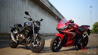รีวิว 2019 All New Honda CB500F / CBR500R 2 คู่หูเน็คเก็ท/สปอร์ต ไลท์เวท ใหม่