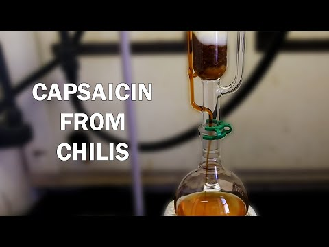 How to extract Capsaicinoids from Chili Peppers