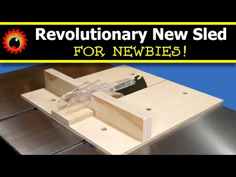 Build this Revolutionary Cross Cut Sled, for Newbies!