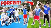EXTREME 2HYPE NBA BASKETBALL FORFEIT CHALLENGE