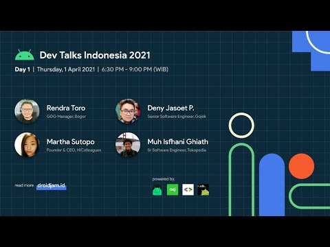 Android and Kotlin Developer Talk Indonesia 2021