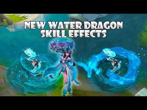 Kagura Soryu Maiden New Water Dragon Skill Effects | Mobile Legends : Bang Bang thumbnail