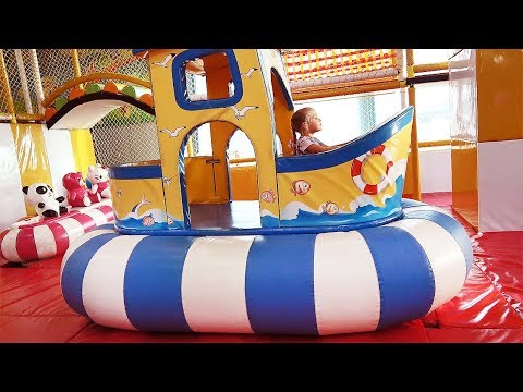 Indoor Playground Fun Activities With Roma And Diana