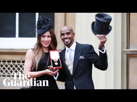 'It's been incredible,' says Sir Mo Farah on receiving knighthood from Queen