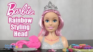 Barbie Rainbow Styling Head from Just Play
