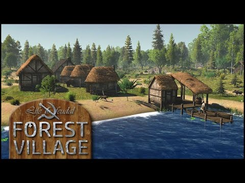 Das Dorf im Wald - Life is Feudal: Forest Village #01 [Gameplay German Deutsch] [Let