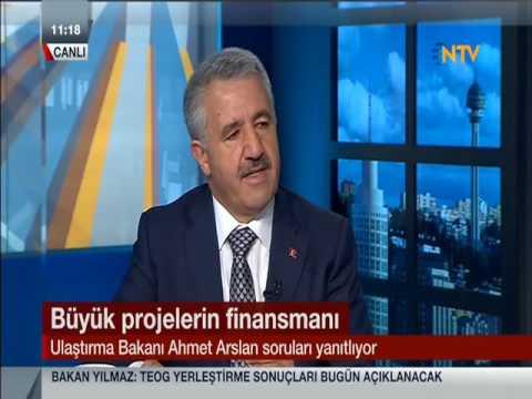 Ahmet Arslan - NTV Canlı Yayınına Katıldı