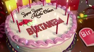 İyi ki doğdun BİRTANEM - İsme Özel Doğum Günü Şarkısı