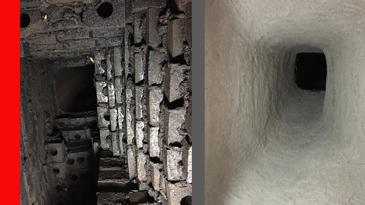 Chimney Smoke Chamber Damage Smart Repair Youtube