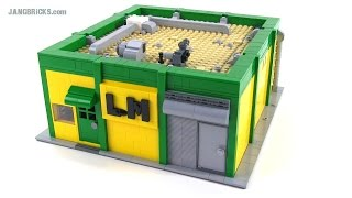 LEGO custom Machine Shop w/ CNC machine, lathe & more