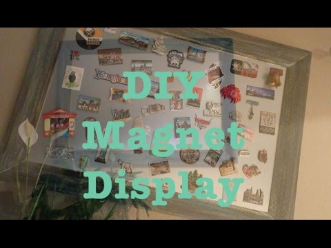DIY Magnet Board | Souvenir Magnet Display