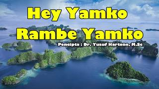 Yamko Rambe Yamko (Lirik, Vokal, Terjemahan)