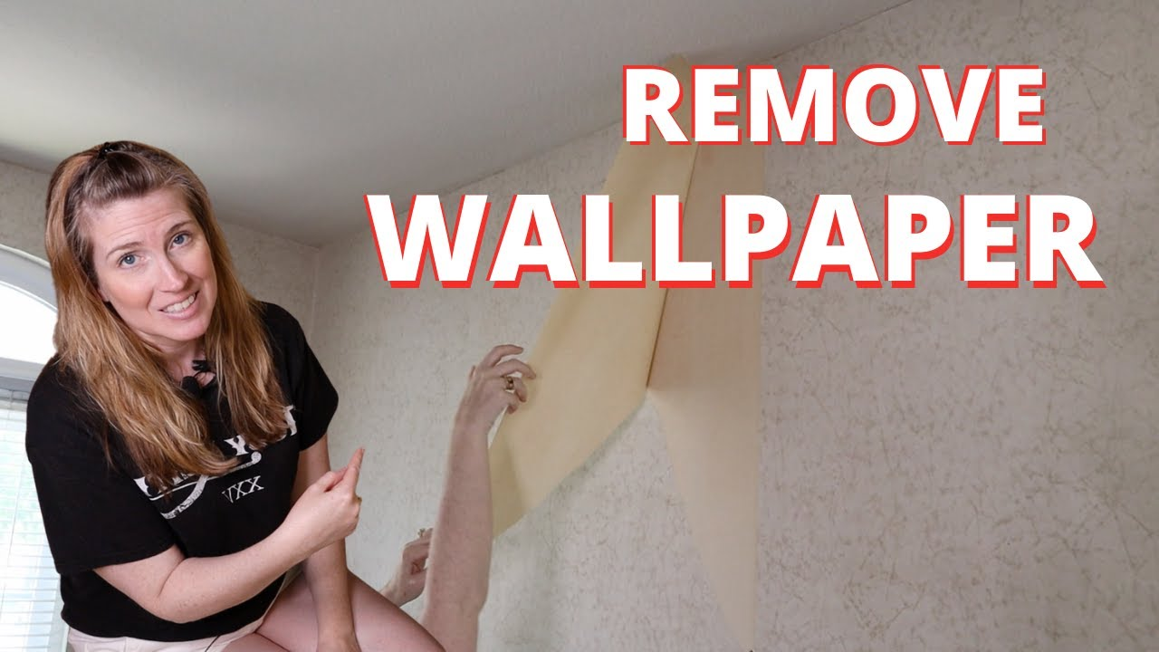 BEST Way To Remove Wallpaper From Drywall - NO CHEMICALS ...