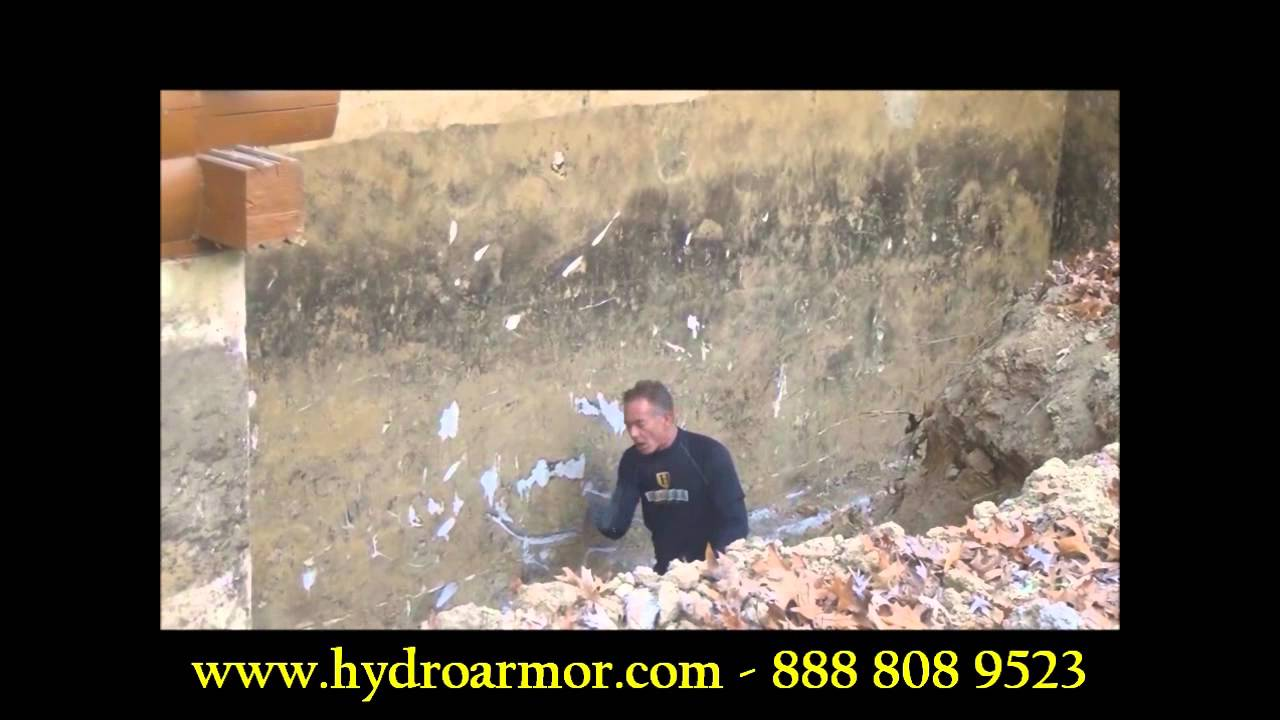 basement waterproofing interior vs exterior basement systems youtube rh youtube com Do It Yourself Basement Waterproofing Interior Waterproofing Basement Walls
