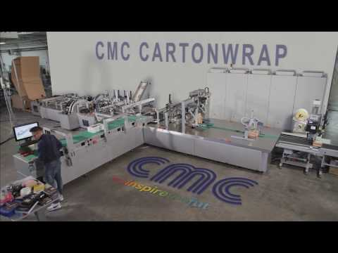 NEW CMC CARTONWRAP 1000 -  3D BOX ON DEMAND SOLUTION