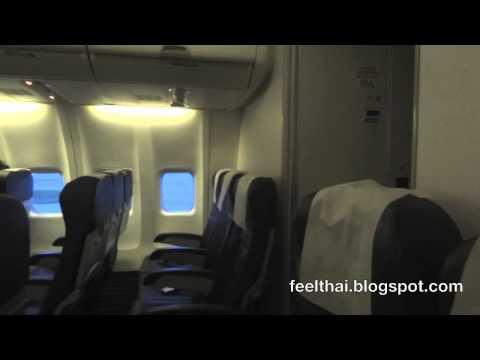 ที่นั่งหลังสุดของเครื่องบิน Nok Air