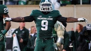 """Isaiah Lewis """"No Fly Zone"""" Michigan State Highlights ᴴᴰ"""