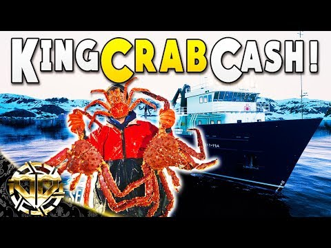 KING CRAB CASH IN DEADLIEST CATCH SIMULATOR : Fishing: Berents Sea Gameplay : King Crab DLC