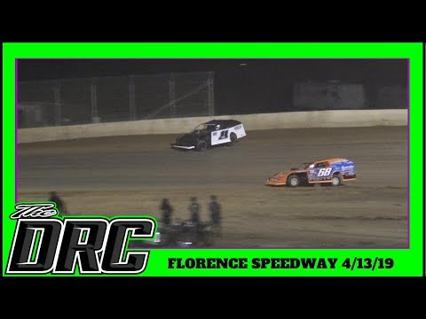 Florence Speedway | 4/13/19 | Slicker Graphics Modifieds | Feature