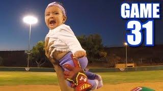 4-YEAR OLD CAPTAIN! | On-Season Softball League | Game 31 thumbnail