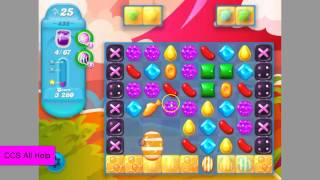 Candy Crush SODA SAGA level 435 No Boosters
