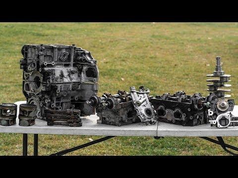 How To Disassemble A Subaru Motor