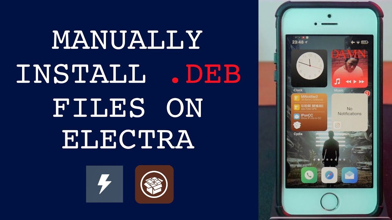How to Install  DEB Files | Electra Jailbreak | iOS 11