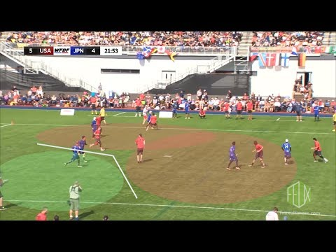 WUGC2016: Japan v USA - Every turnover of the match analysed