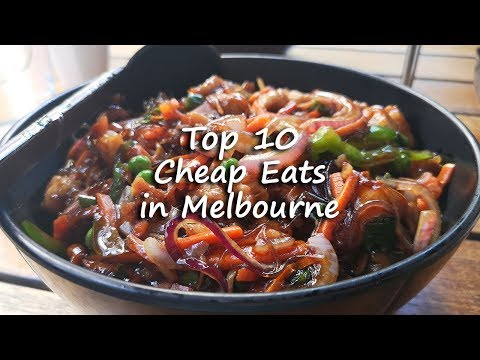 Things To Do In Melbourne | Top 10 Cheap Eats Under $10 | What To Eat | Traveller Passport