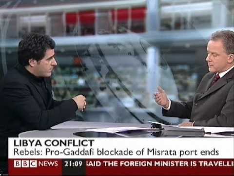 BBC TV Interview - Reinforcing Libyan Rebels, 30 March 2011
