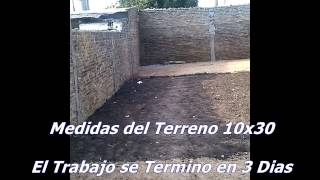 Nivelacion de Terreno-Plateas- Entoscados- Desmontes