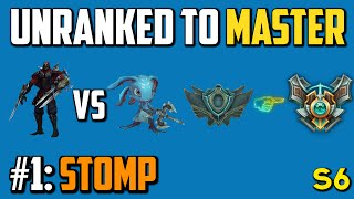 ZED MID - Unranked to Master - Episode 1: Stomp