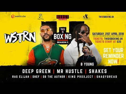 THIS IS BOXING SEASON 2 Live Stream - In Association with Link Up TV