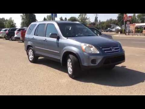 2006 Honda CR-V with AM/FM/6-CD/Cassette Radio, Storage Space, Folding Table, & Heated Seats