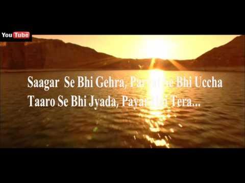 Sagar se bhi gehra vocal testing by samit