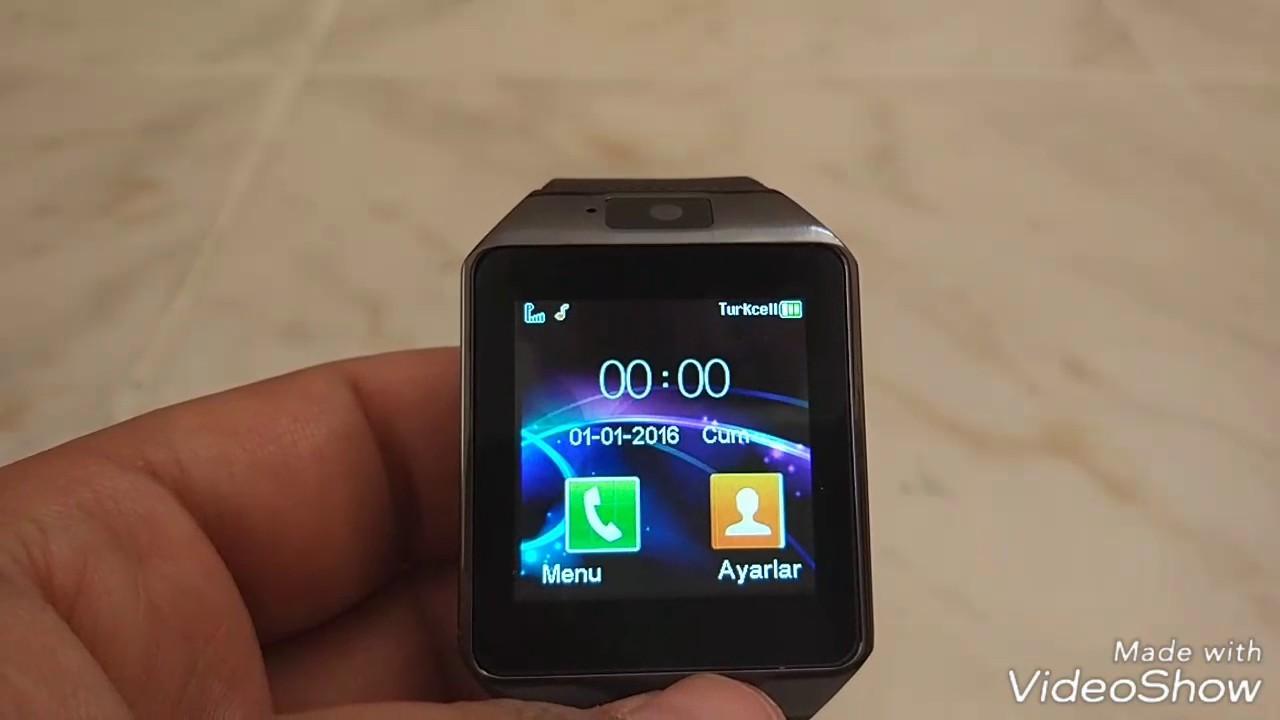 DZ09 Akıllı saat sim kart, Dz09 whatsapp