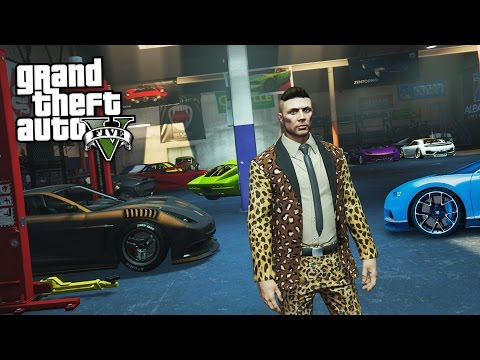 GTA 5 IMPORT/EXPORT DLC - RARE CARS & SPECIAL VEHICLES MISSI