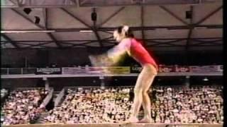 Sun Xiaojiao - 2001 Worlds Event Finals Balance Beam